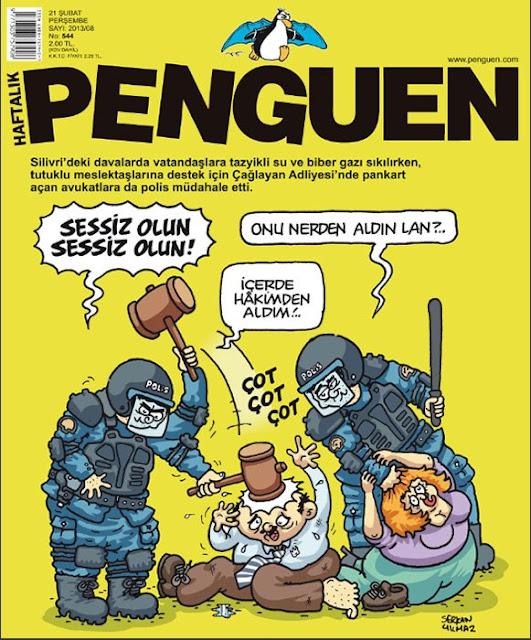 Penguen Dergisi | 21 Şubat 2013 Kapak Karikatürü