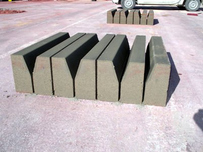 Concrete blocks sample