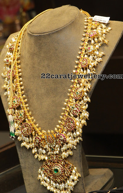Latest Kundan Guttapusalu Long Chain
