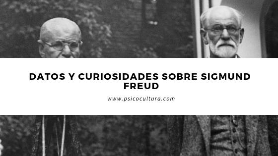 Datos y curiosidades sobre Sigmund Freud