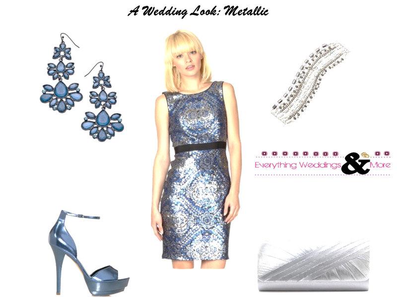 Wedding-Look-Metallic-Fashion