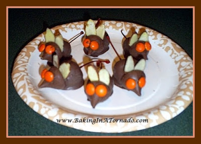 Orange Eyed Mice | www.BakingInATornado.com | #recipe
