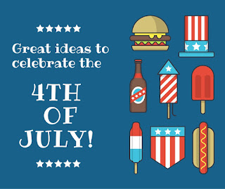 Great Ideas for the 4th of July Roundup with the Blog Friends