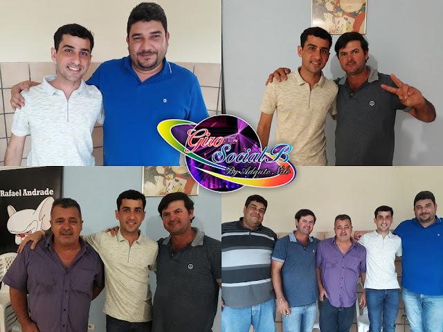 Em Buíque Claudiano Martins Filho  monta estratégia politica com  o ex prefeito e seus aliados.