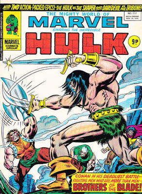 Mighty World of Marvel #217, Conan the Barbarian