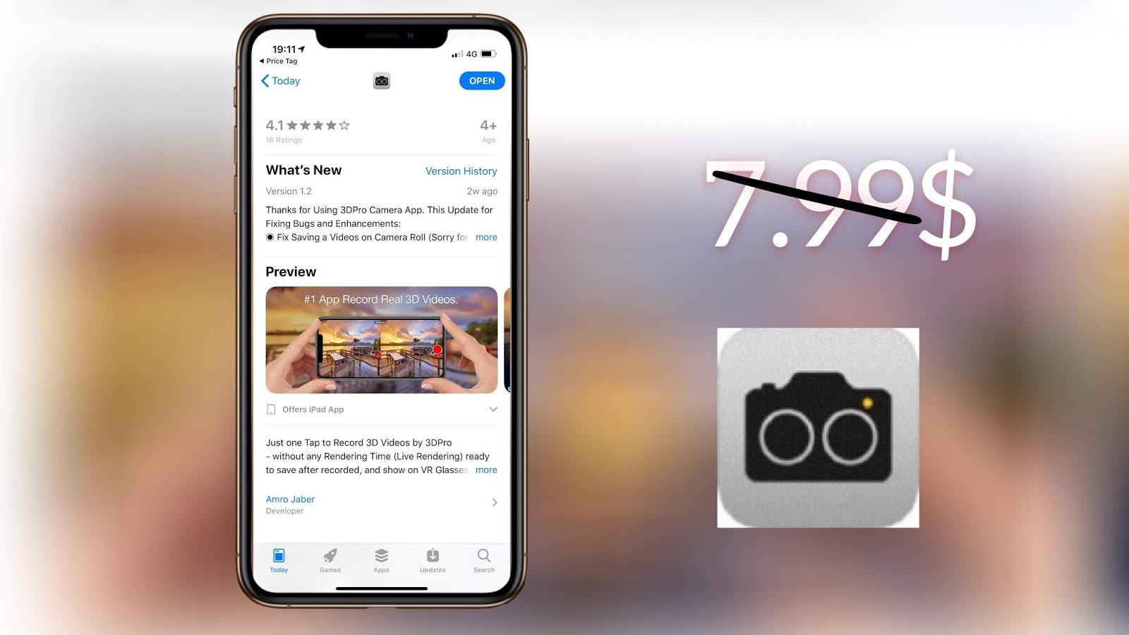 d224c8668 افضل تطبيق لتصوير الفديو بتقنية 3D بكل سهولة - Apphone Official