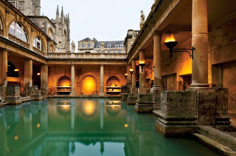 4. Bath, England - 5 of the Most Relaxing Natural Baths in The World