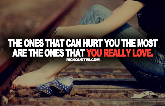 Love Quotes | Once That You Really Love Girl alone On Railway Track