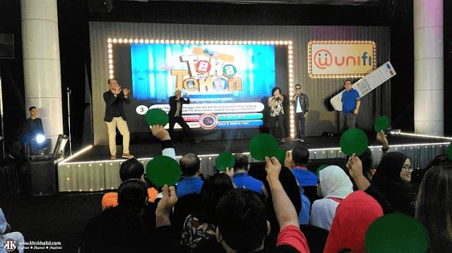Teka Tekan, TM Unifi 2018, TM Convention Centre, Unifi,