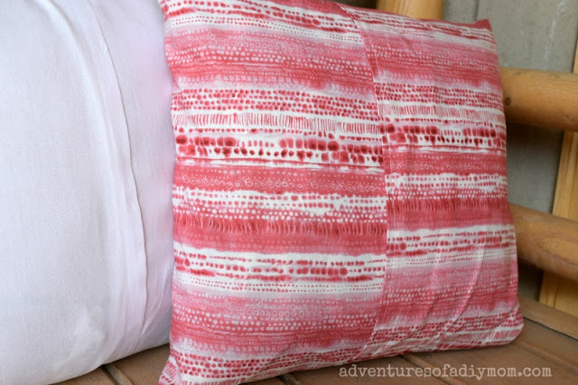 How to Make an Easy Envelope Pillow Cover