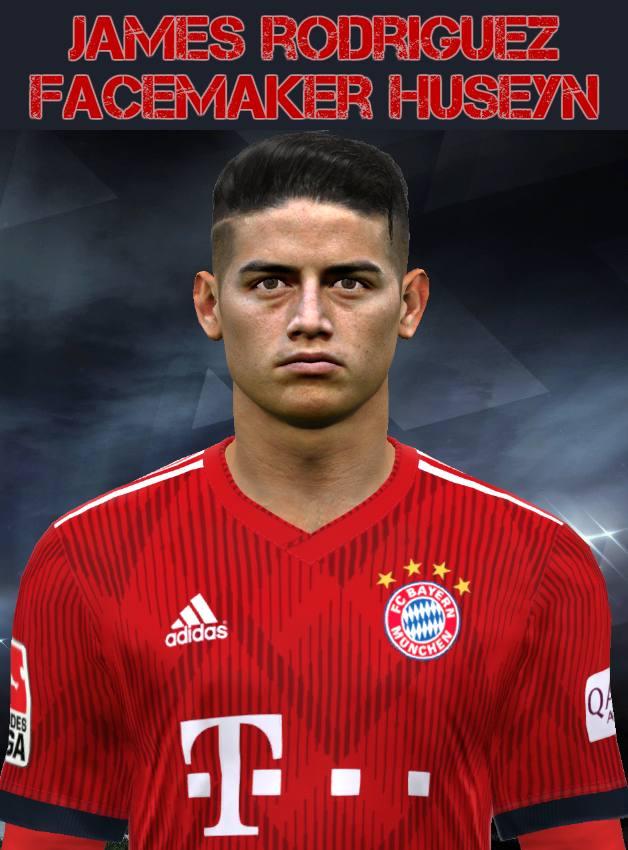 PES 2017 James Rodríguez Face