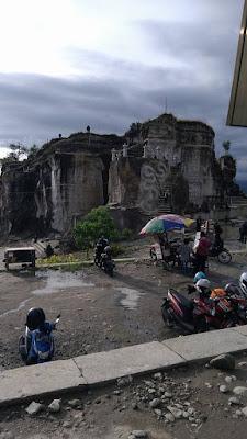 Minggu kemudian lagi ada program bisnis di Yogykarta Tempat Wisata Tebing Breksi Yogyakarta