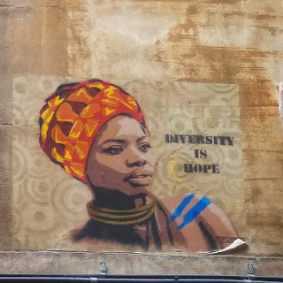 Diversity is Hope. Raval, Barcelona, 2018