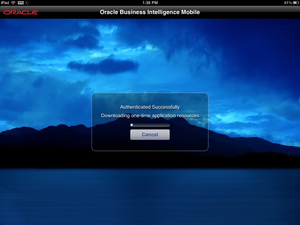 Abhinav's Tech Blog: Oracle BI Mobile HD App - 1