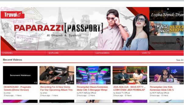 startup video berbagi kas indonesia