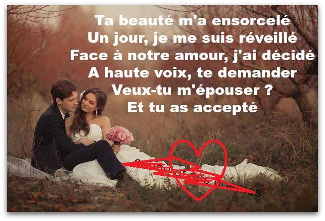 Préférence Phrase d'amour & textes romantique pour mon amour | Poème d'amour  SA71