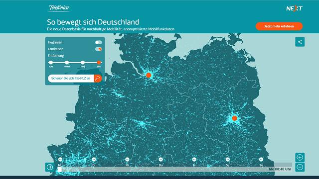 Cómo se mueve Alemania: datos móviles para mejorar planes de transporte