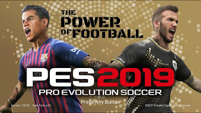 PES 2018 Mini Patch New Season 2018/2019
