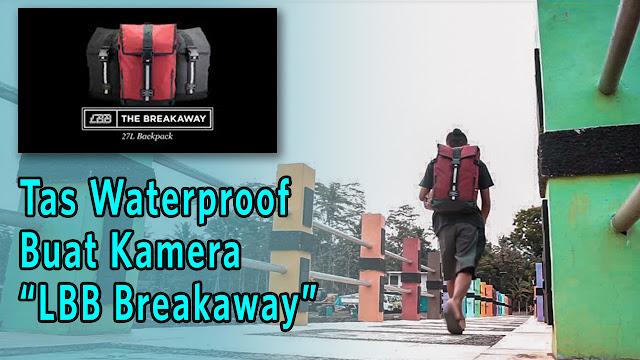 Tas kamera travelling waterproof
