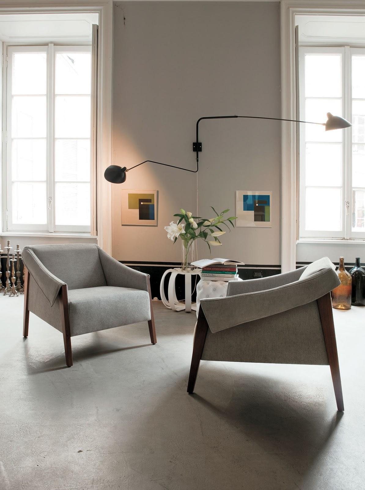 scandinavian mid century armchair