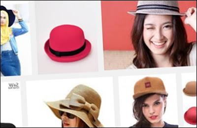 topi wanita