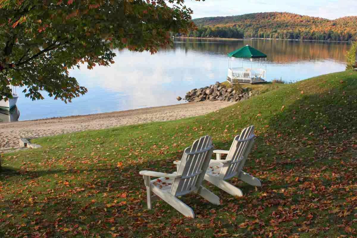 An einem See in Ontario