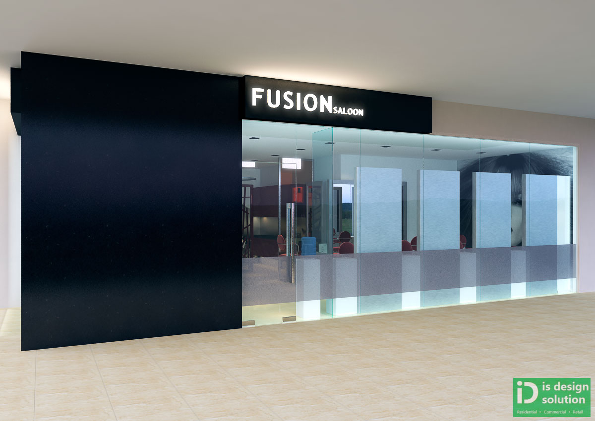 IS DESIGN SOLUTION: Fusion Hair Salon