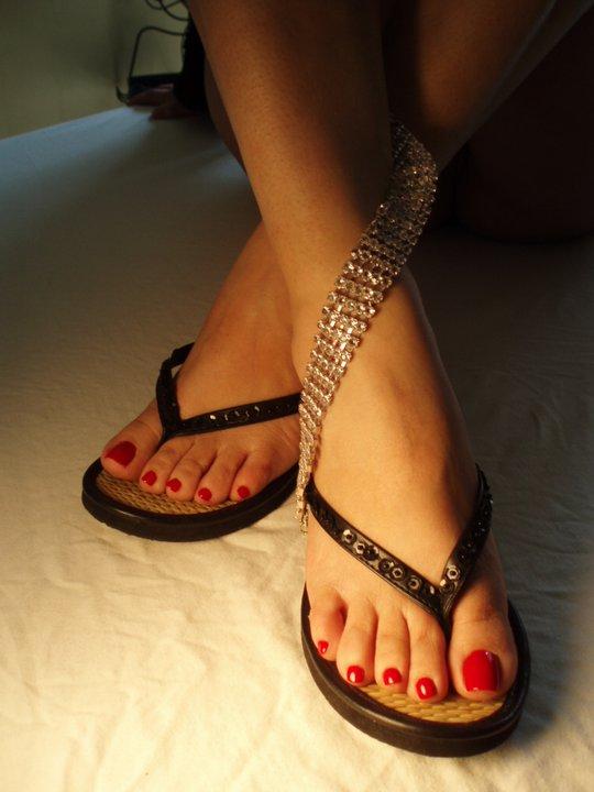 FemDom Feet And Nails: Long Toenails