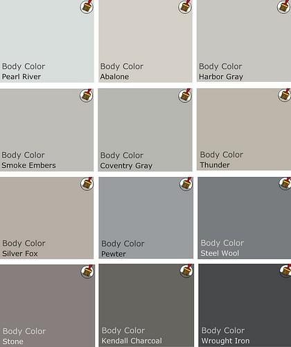 Benjamin Moore Grey Paint Colors