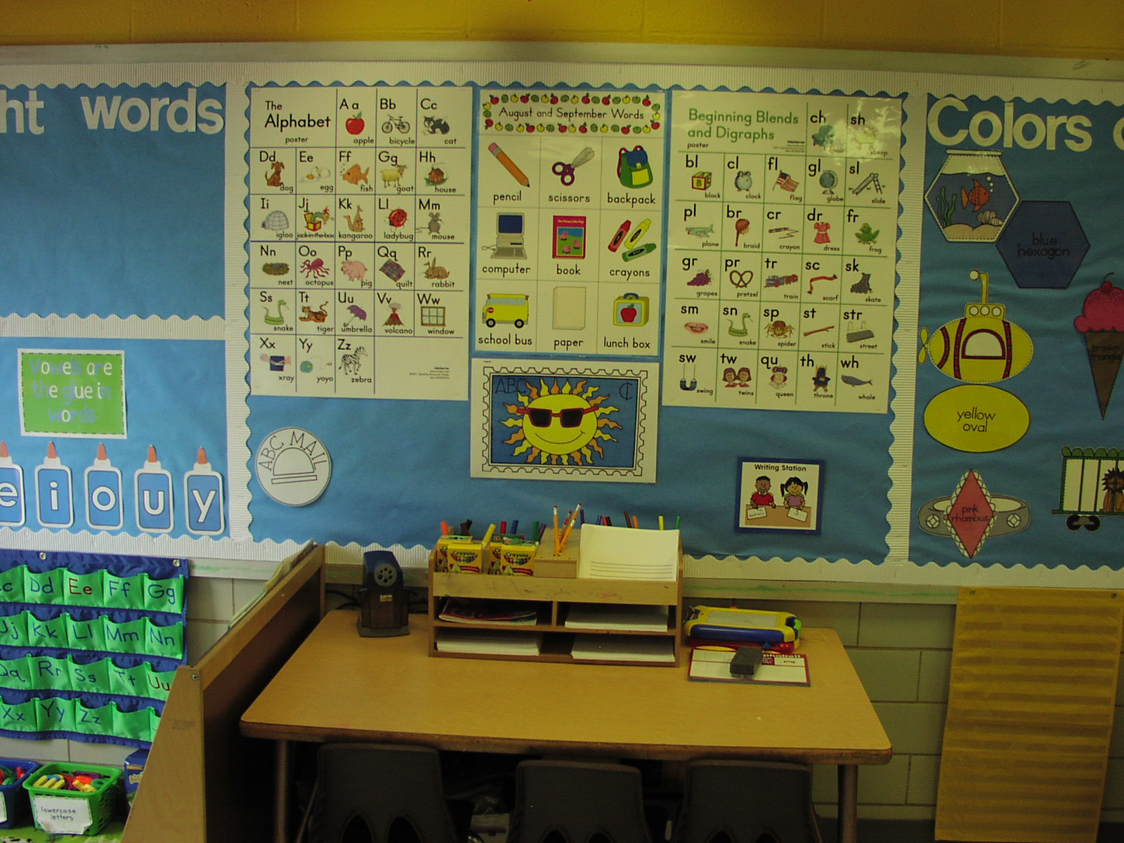 Classroom Writing Ideas ~ Keen on kindergarten classroom pics