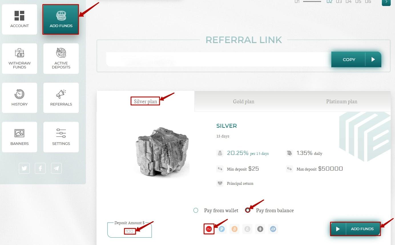 Реинвест в Fast Minerals LTD