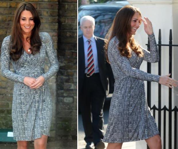 Antenadas E Fashionistas Moda Gestante Kate Middleton