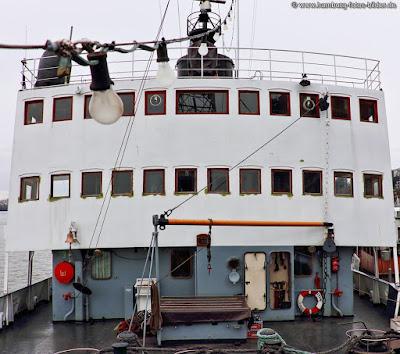 An Deck auf dem Eisbrecher Stettin