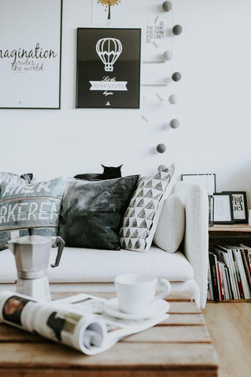 Mieszkanie w stylu skandynawskim zdjęcia