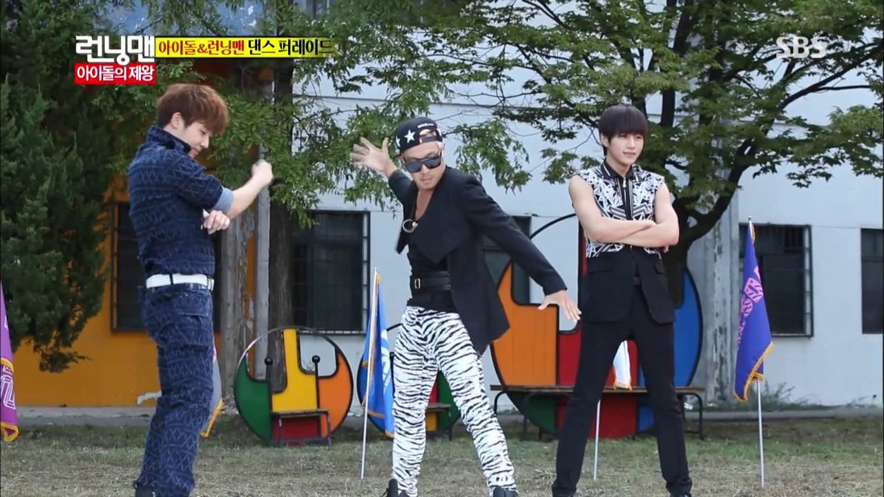 The cat who reincarnated into a FANGIRL: Tuesday Running Man