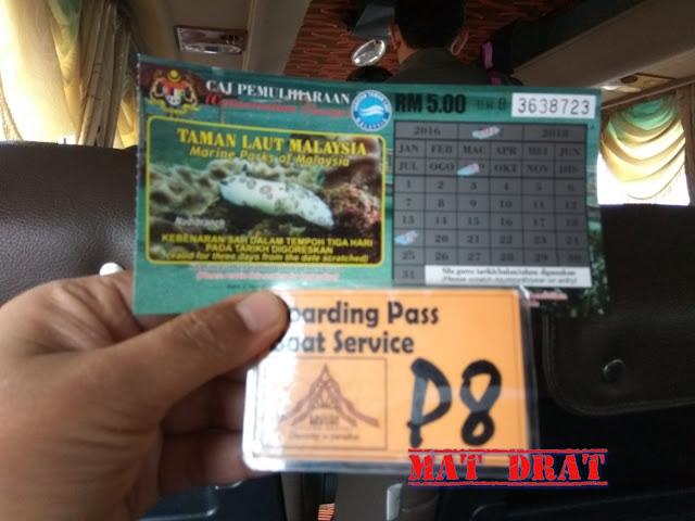 Bercuti ke Pulau Redang  Jeti Shahbandar