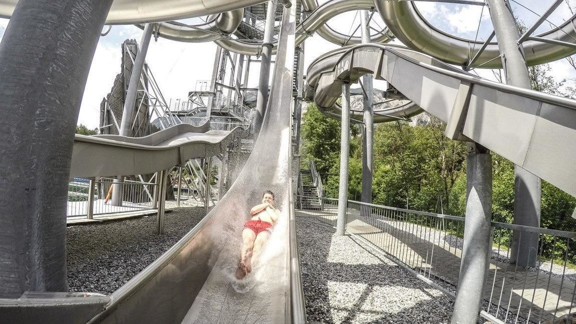 #11. Area 47, Innsbruck, Austria - The World's 25 Scariest Waterslides… I'm Surprised #6 Is Even Legal.