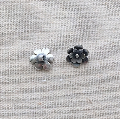 pewter button jewelry supplies