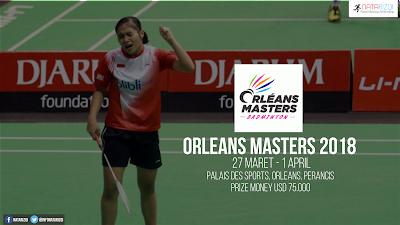Jadwal Orleans Masters 2018
