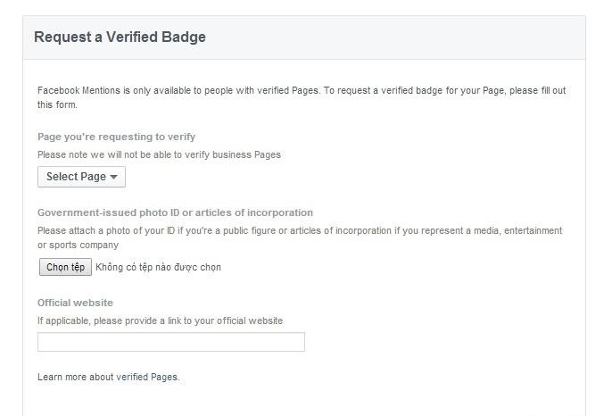 hướng dẫn cách tạo dấu tích v xanh cho facebook nhanh nhất