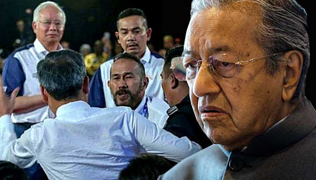 Insiden Tampar Depan Najib Memalukan - Tun Mahathir: