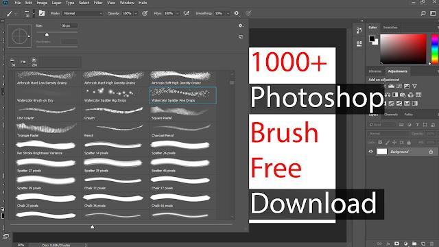 Best 1000+ Photoshop Brush Free Download