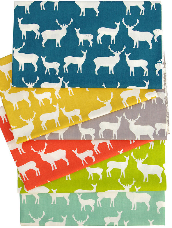 Mod Basics ~ Elk Family by Jay-Cyn Designs for Birch Fabrics | Red Pepper Quilts