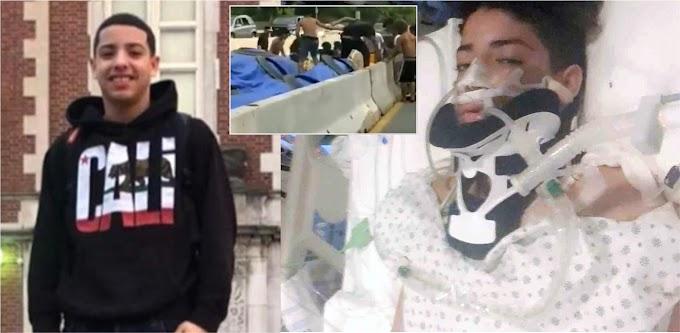 Estudiante apuñalado por asesinos de Junior sale de hospital con un riñón menos y otros problemas