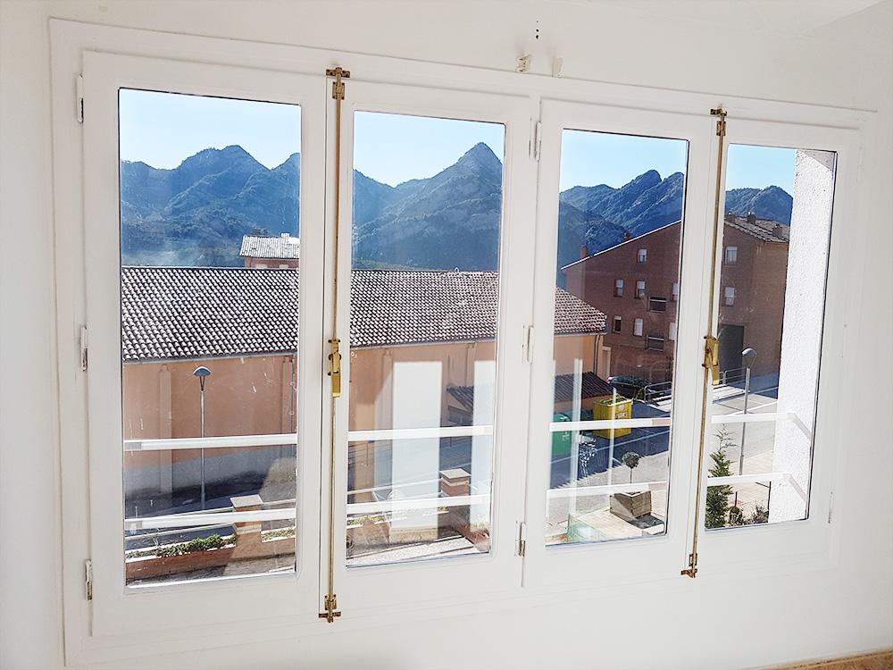 Antes y despu s de nuestras puertas y ventanas alquimia deco - Pintar puertas de casa ...
