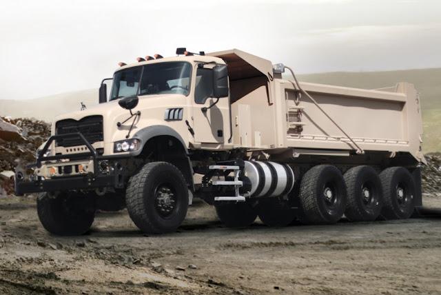 Resultado de imagen para Granite el camión volquete pesado M917A3 (HDT)