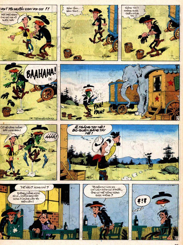 Lucky Luke tap 17 - ganh xiec mien vien tay trang 23