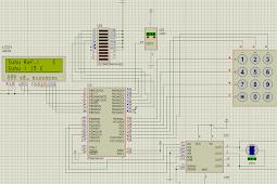 Membuat Simulasi Inkubator/Pengatur Suhu Proteus+CodeVision Avr