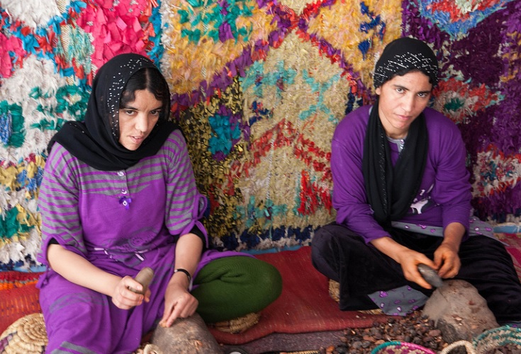 Argan oil is used for cooking, making beauty products, and medicines throughout Morocco and the world.