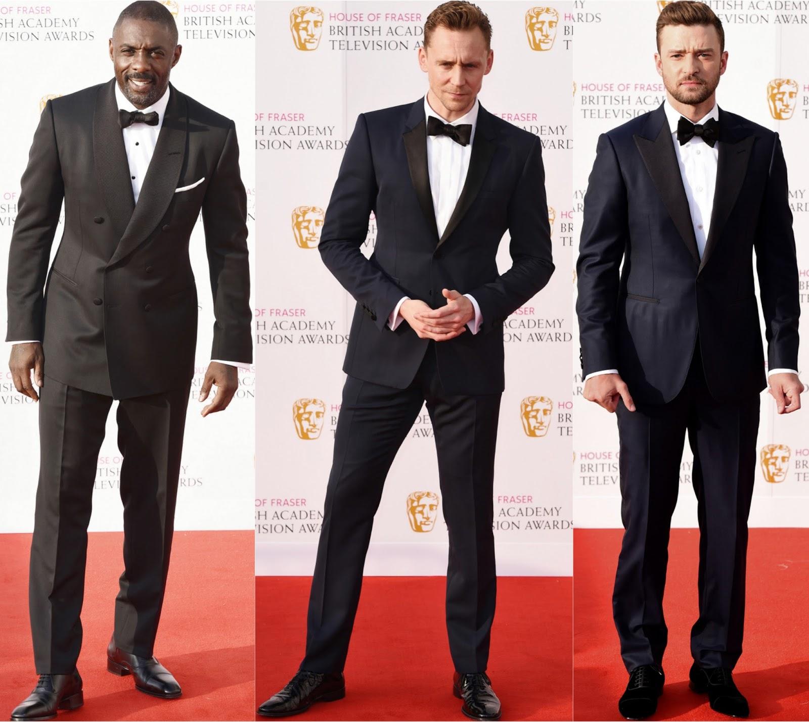 House Of Fraser 2016 Bafta Tv Awards Mens
